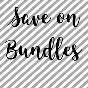 Bundle and SAVE 💲💰